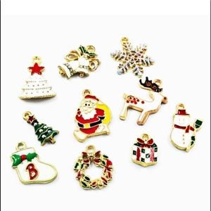 Jewelry - NEW• DIY Xmas lot jewelry making/crafting charms